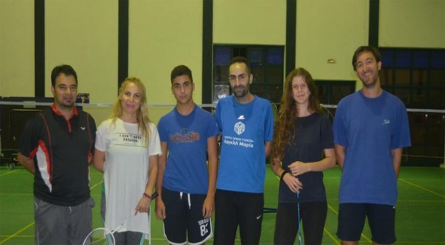 Η ελίτ του Αρίων στην εθνική ομάδα Badminton